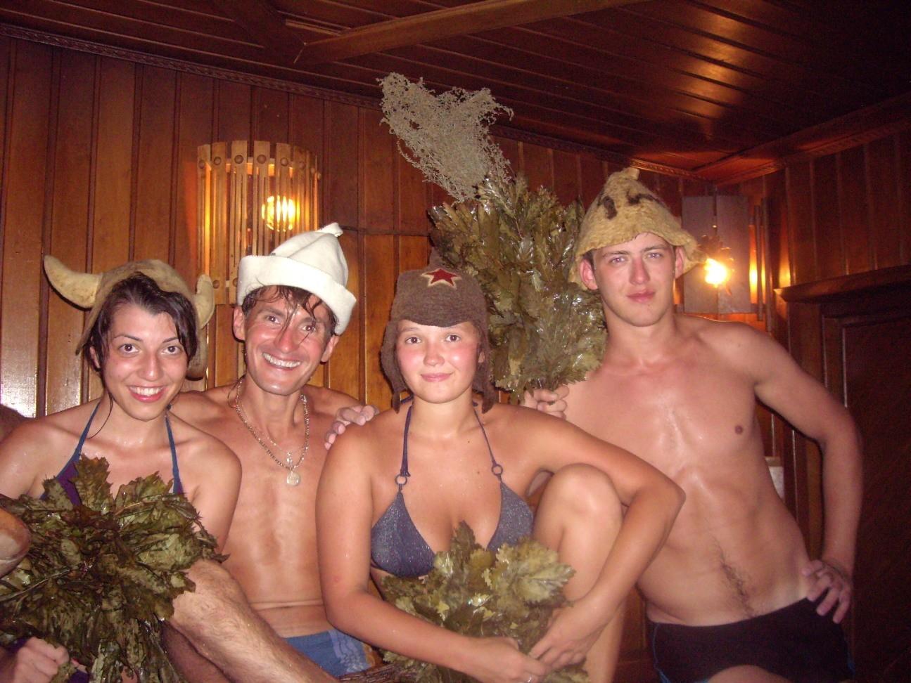 Любительские фото в русской бане смотреть онлайн